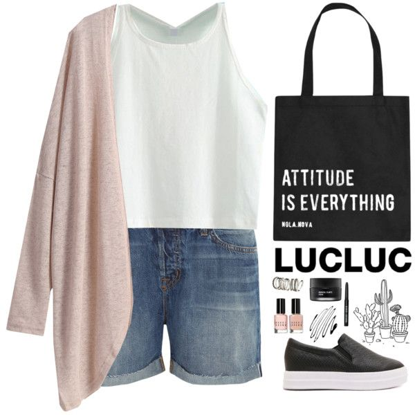 LUCLUC 28. by biljanamilenkovic on Polyvore featuring J Brand, H&M, Bobbi Brown Cosmetics, Koh Gen Do and lucluc