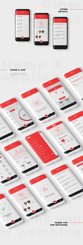 Home X / Smart home application