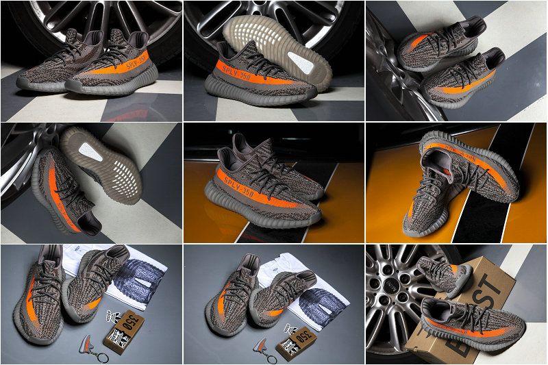 info for 28f8c ec6f2 Buy Adidas Yeezy 350 Boost V2 Beluga 550 BB1826 Boost Dark Grey Orange 2018  Online