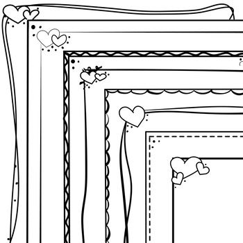34++ Valentines day clipart free black and white ideas in 2021