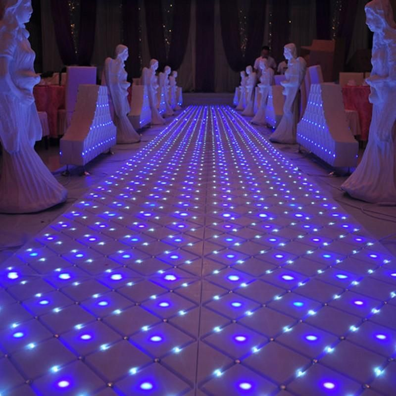 Luxury Fantasy Crystal Wedding Mirror Carpet Aisle Runner T Station Stage Decoration Led Carpets New Arrival Catalogs