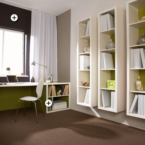 Gestaltung von Arbeitszimmer und Arbeitsplatz - LLUK Wohnideen - wohnideen zum selber bauen