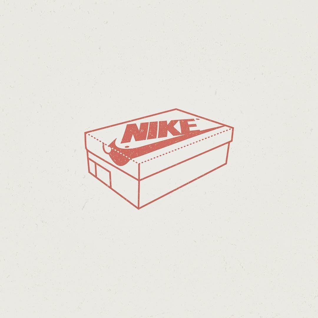 Alejandro Parrilla On Instagram Nike Shoe Box Illustration Illustrator Logoplace Vector Illustree T Sneakers Box Nike Shoes Outfits Custom Nike Shoes