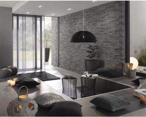 Verblender Wohnzimmer Grau ~ Inspirierende Bilder Von Wohnzimmer ... Verblendsteine Wohnzimmer Grau