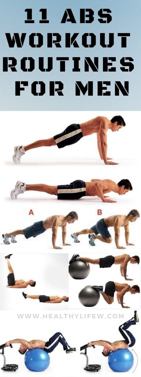 11 ABS WORKOUT ROUTINE FOR MEN TO GET A SIX PACK FAST   workouts