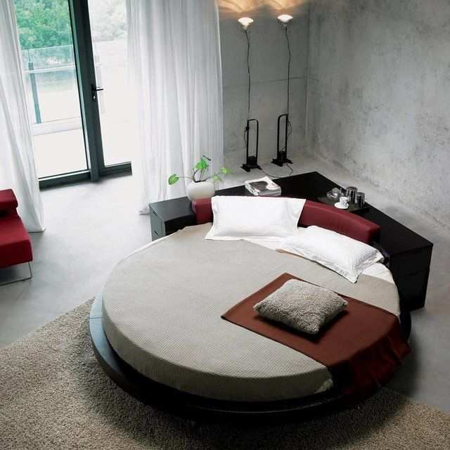 Plato Round Bed Round Beds Circle Bed Modern Bed