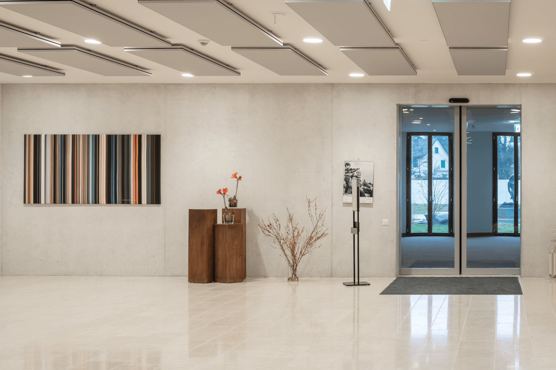 Raumakustik Im Gesundheitswesen Wandgestaltung Raumgestaltung Akustik