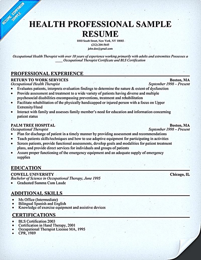 sample phlebotomy resumes