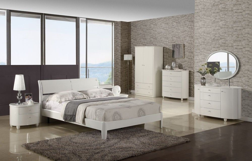 Aztec White Wooden Bedroom Furniture Collection | Bedroom ...