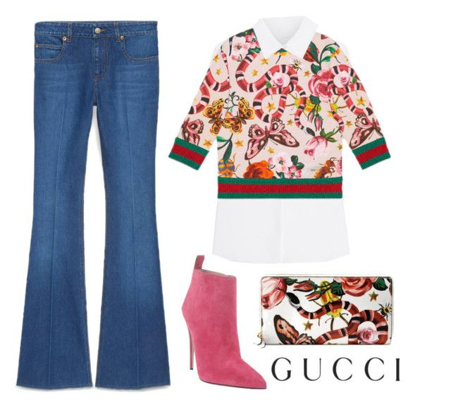 """""""Presenting the Gucci Garden Exclusive Collection: Contest Entry"""" by carolinejbrooks ❤ liked on Polyvore featuring Gucci and gucci"""