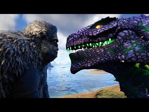 Awesome Ark Survival Evolved Godzilla King Kong Finally Get To