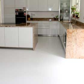Shiny White Vinyl Flooring Textured Floor Tiles 36 00 Per Square Metre Vinyl Flooring White Vinyl Flooring Flooring