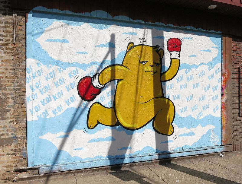 One Way Bear by Bear Champ