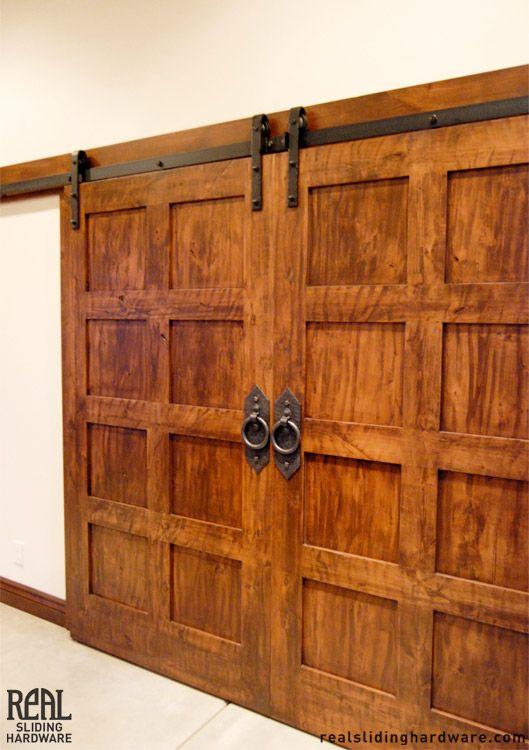 Sliding Rustic Doors Google Search Media Room