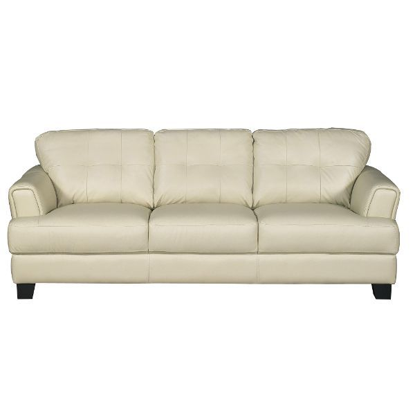 District Cream Leather Contemporary Sofa Rc Willey Home Furnishings Leather Couches Living Room Cream Leather Sofa Leather Sofa