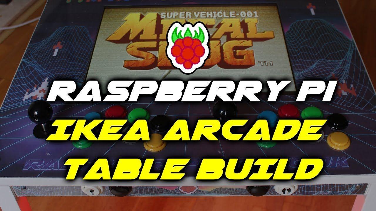 Park Art|My WordPress Blog_Arcade Coffee Table Raspberry Pi