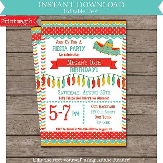 Download right away and personalize the invitation yourself at - free engagement invitations