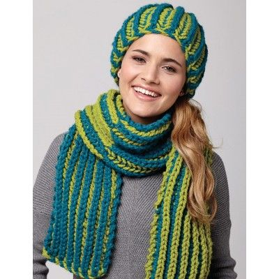 Flip Shade Hat And Scarf Free Knit Scarf Cowl Patterns Pinterest