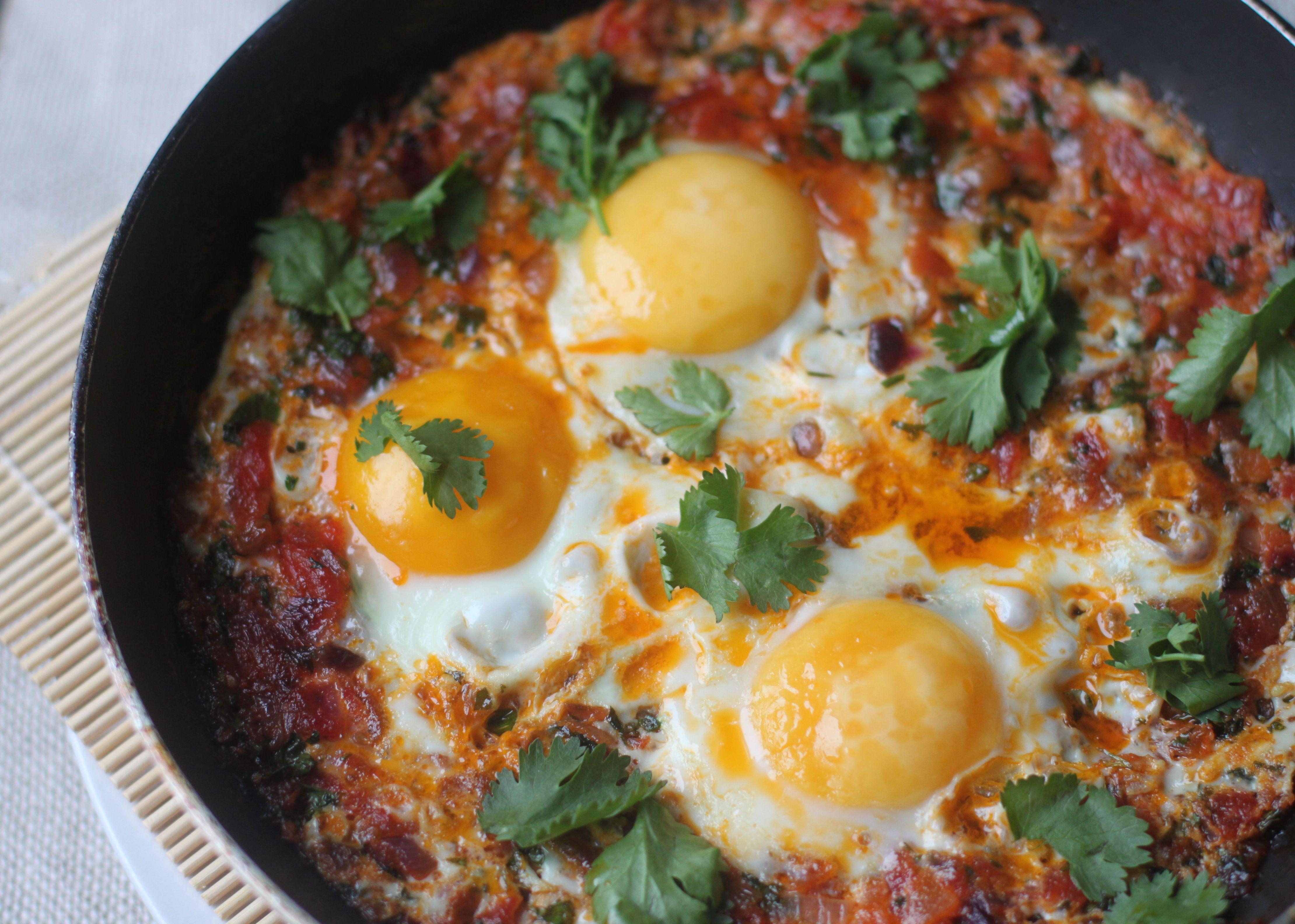 Chakchouka hledat googlem obl ben j dlo a pit for Algerian cuisine