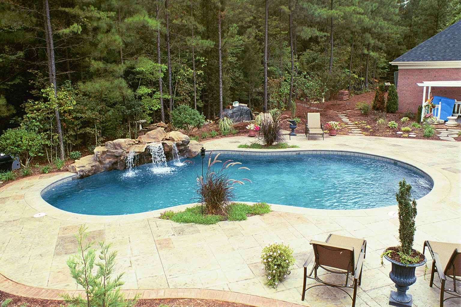 Lombardo Swimming Pools Company Builds Custom In And Around The Greater Charlotte Nc Metro Area
