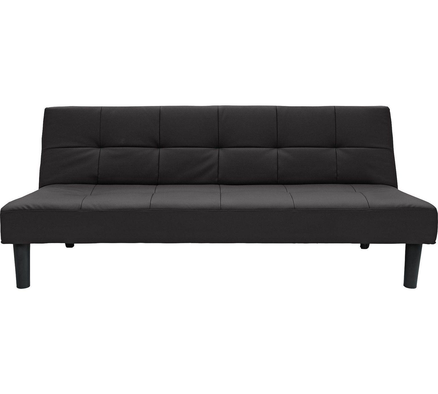 Buy Argos Home Patsy 2 Seater Clic Clac Sofa Bed Black Sofa Beds Sofa Bed Black Sofa Bed Red Black Sofa