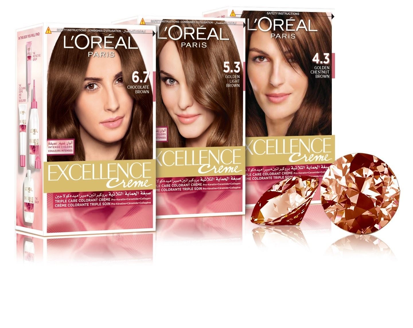 10 New Loreal Excellence Hair Color Shades In Pakistan Tutorial