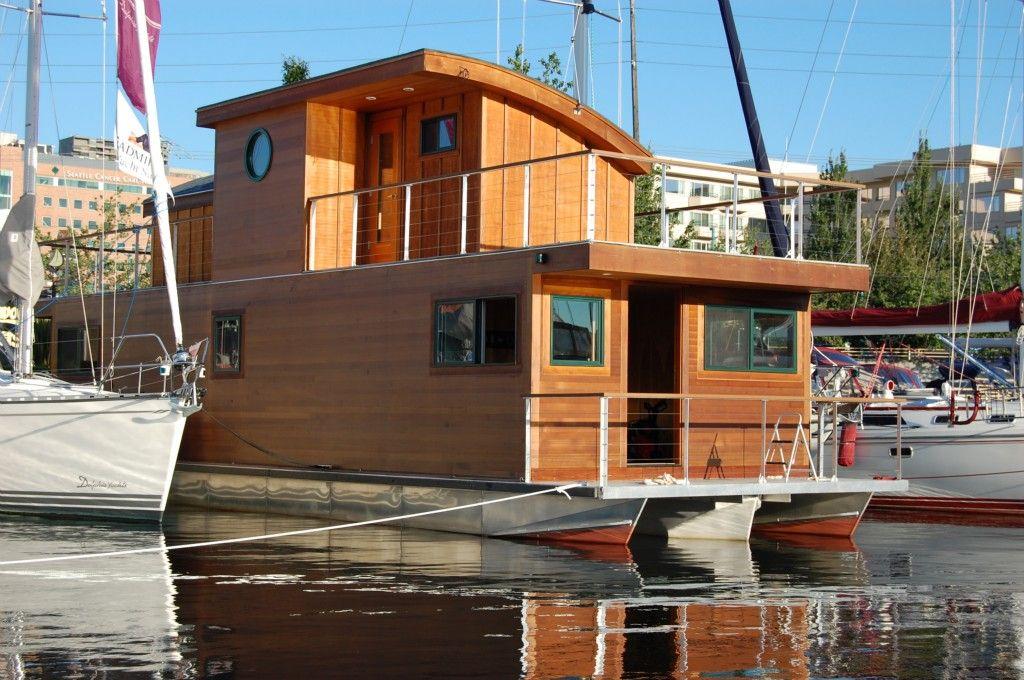 Houseboat lake union floating houses pinterest lake