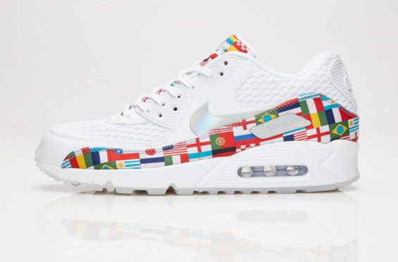 012bff034068 The Nike Air Max 90 International Flag Honors The FIFA World Cup The 2018  FIFA World