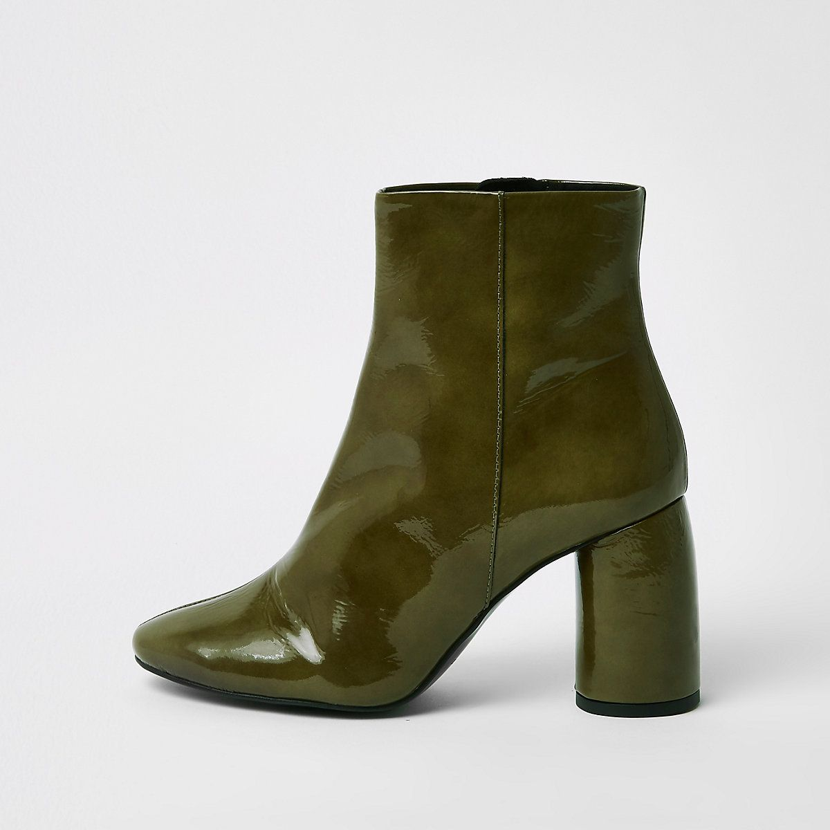 ce3a8502a70 ShopStyle Collective Grey suede two tone ankle boots from Santoni ...