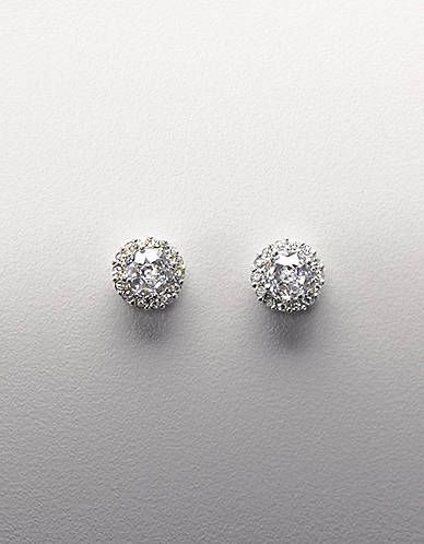 Round Cubic Zirconia Earrings | Lord and Taylor