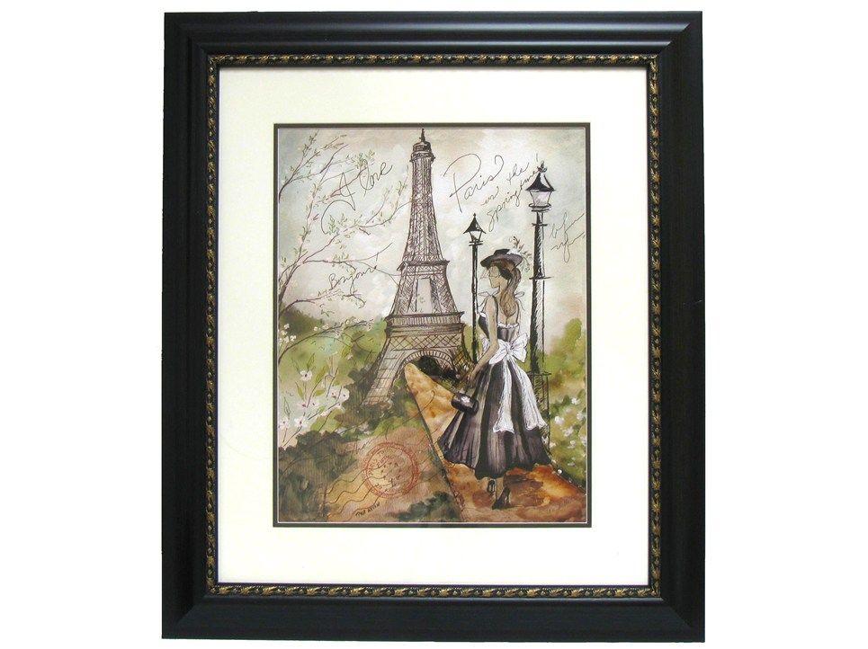 I Love Spring Time in Paris 1 Framed Art | Springtime in Paris ...