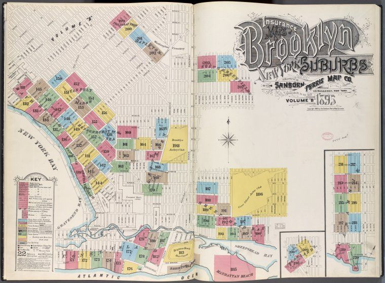 From NYPL's Blogs: The New York City Historical GIS Project http://www.nypl.org/blog/2012/06/13/nyc-historical-gis-project