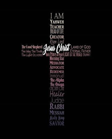 Names Of Jesus Cross Silhouette Pink Ombre Art Print Inspire Me Art Com In 2020 Names Of Jesus Jesus On The Cross Jesus Wallpaper