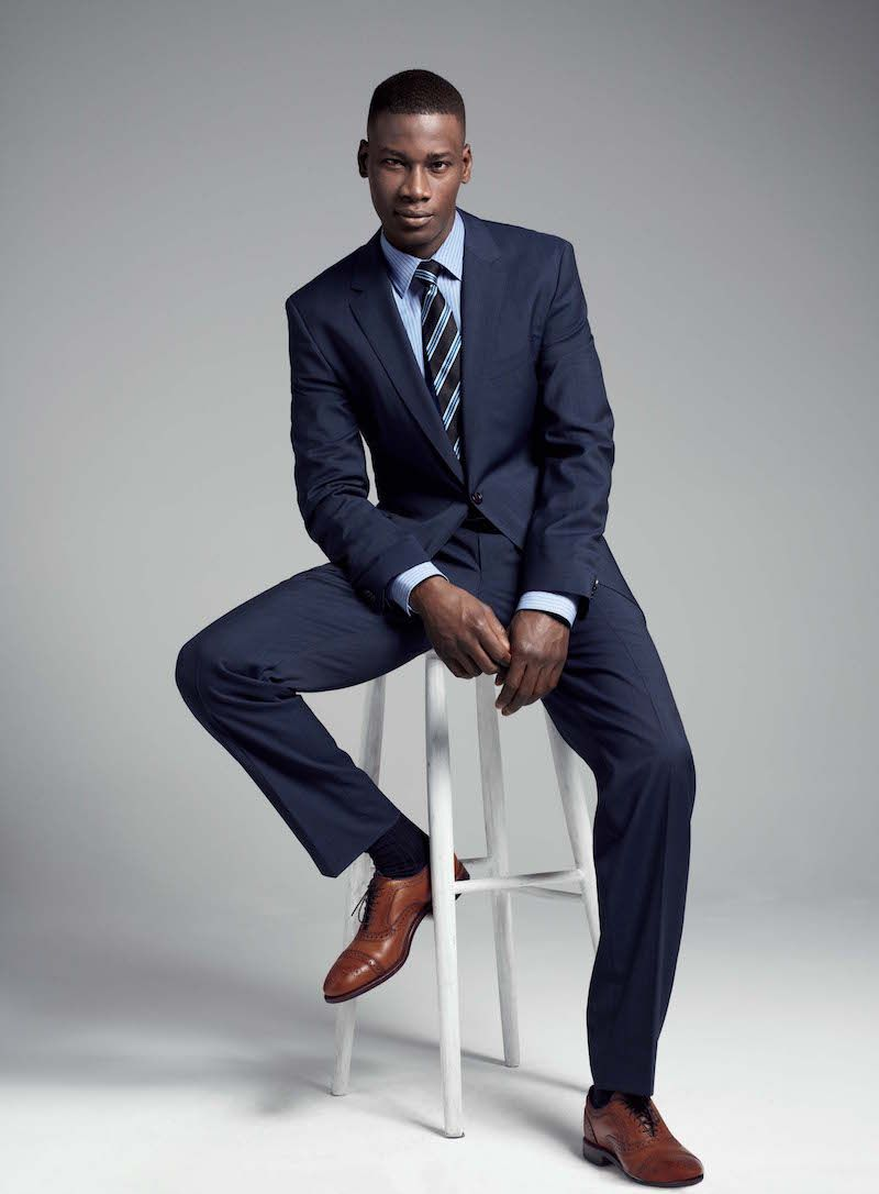 navy blue suit for men | Fashion | Pinterest | Navy blue suit and ...