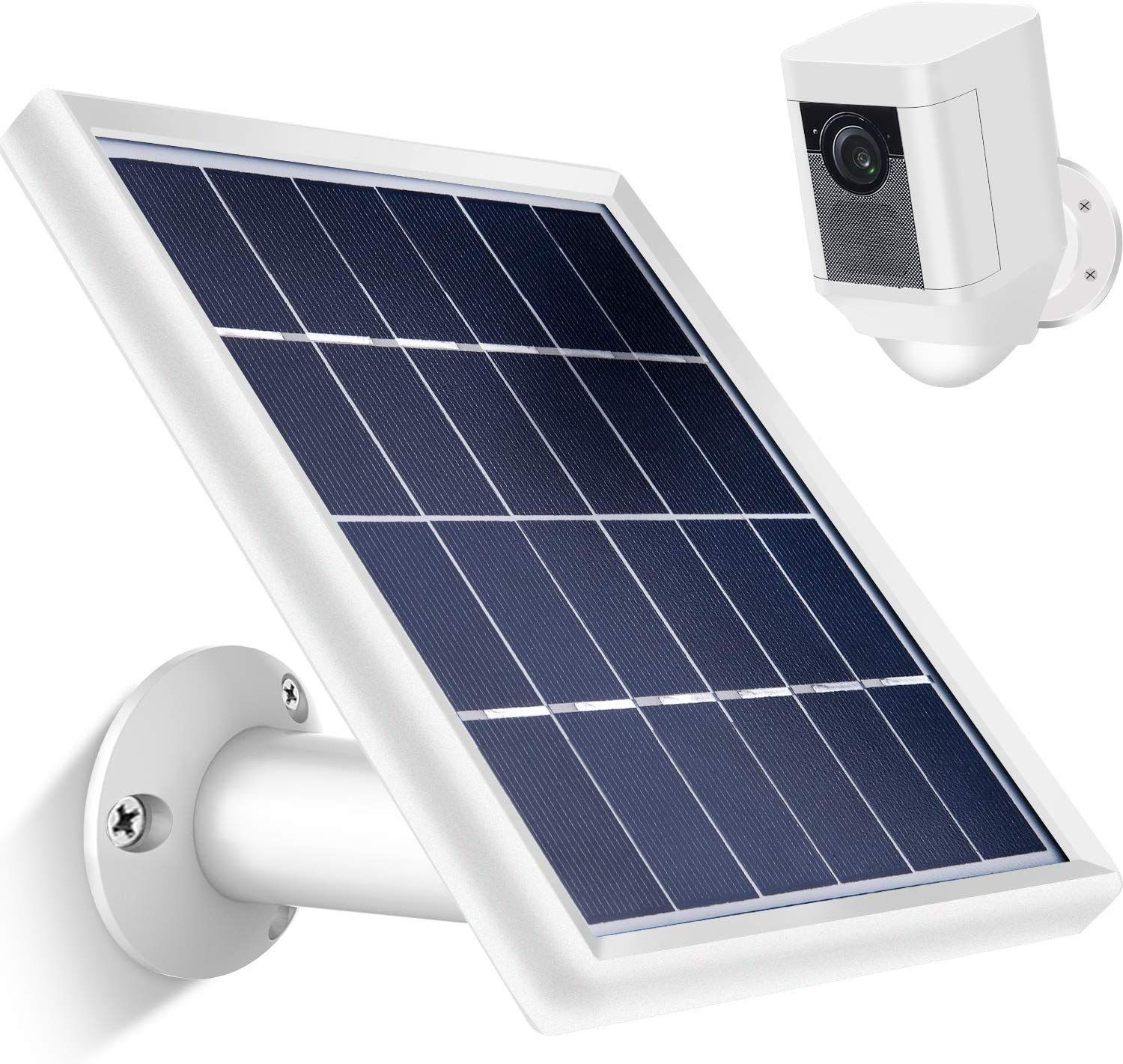 Solar Panel For Ring Spotlight Cam With Security Wall Mount Solar Panels Solar Panel Charger Portable Solar Panels