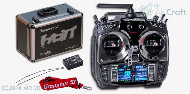 MZ-24 12ch 2.4GHz HoTT送信機 3.5 TFT LCD / Mode 1 #Graupner #送信機