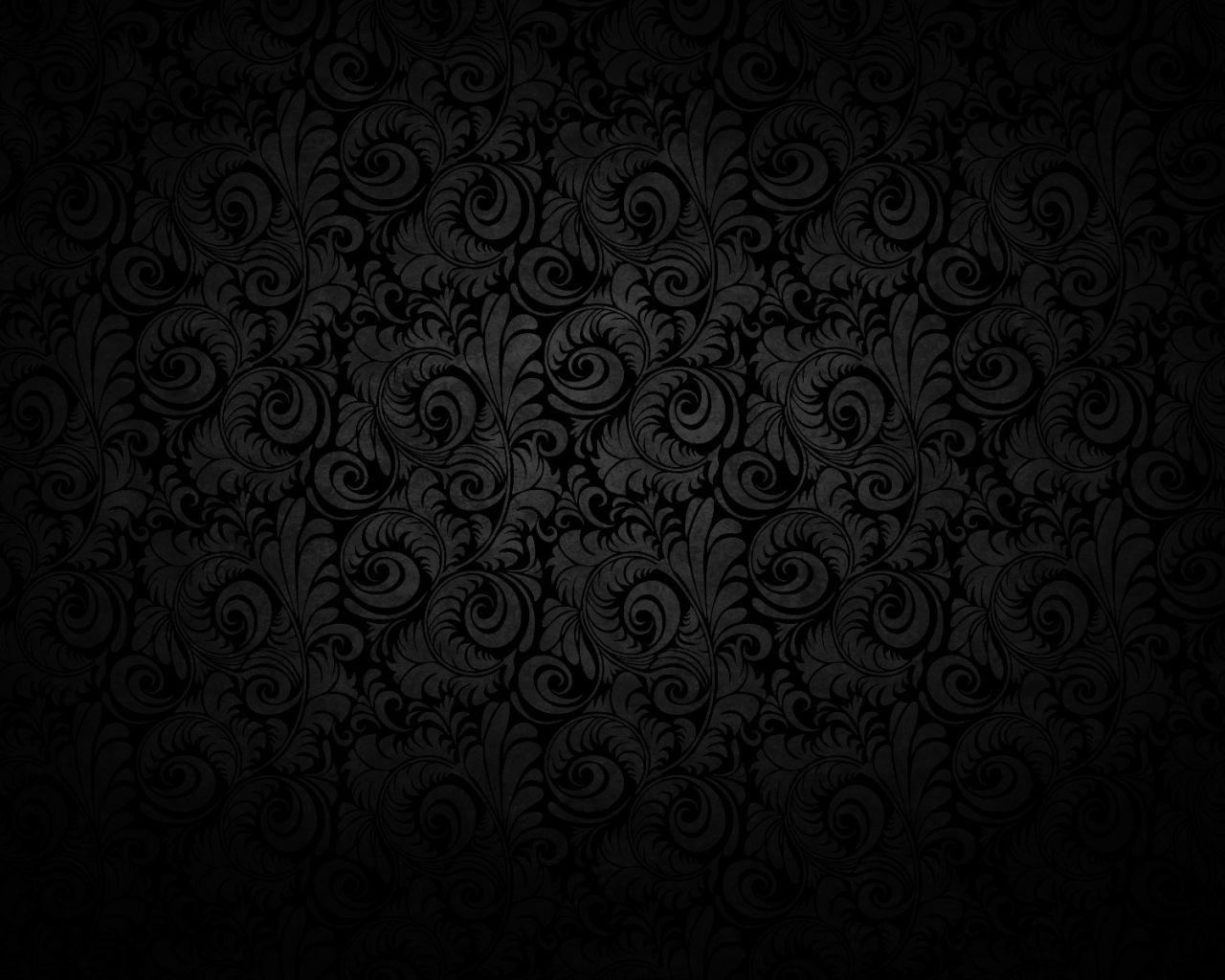 1280x1024 Oboi Chernyj Fon Uzory Svet Tekstura Chernyj Fon