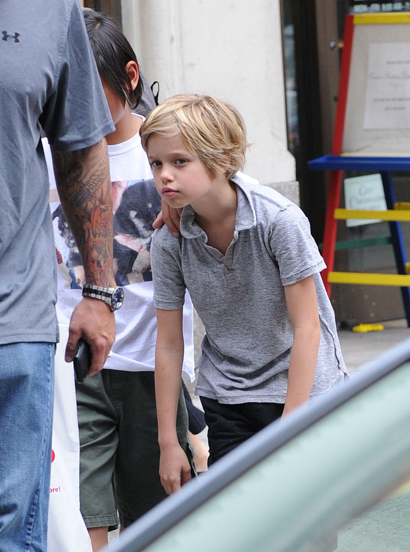Shiloh Jolie Pitt New Haircut 2015 Shiloh Jolie Pitt 7 Shiloh