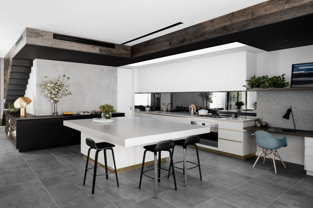 Middlepark Residence Contemporary Kitchen Melbourne
