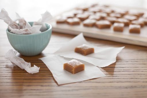 Bourbon and Honey Salted Caramels Recipe on Yummly