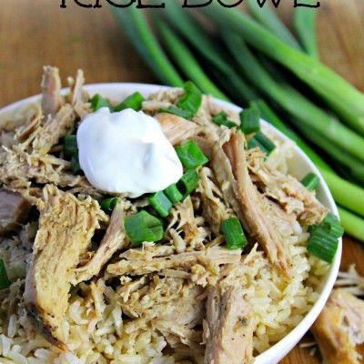 Cuban Rice Bowl pinterest #cubanrice