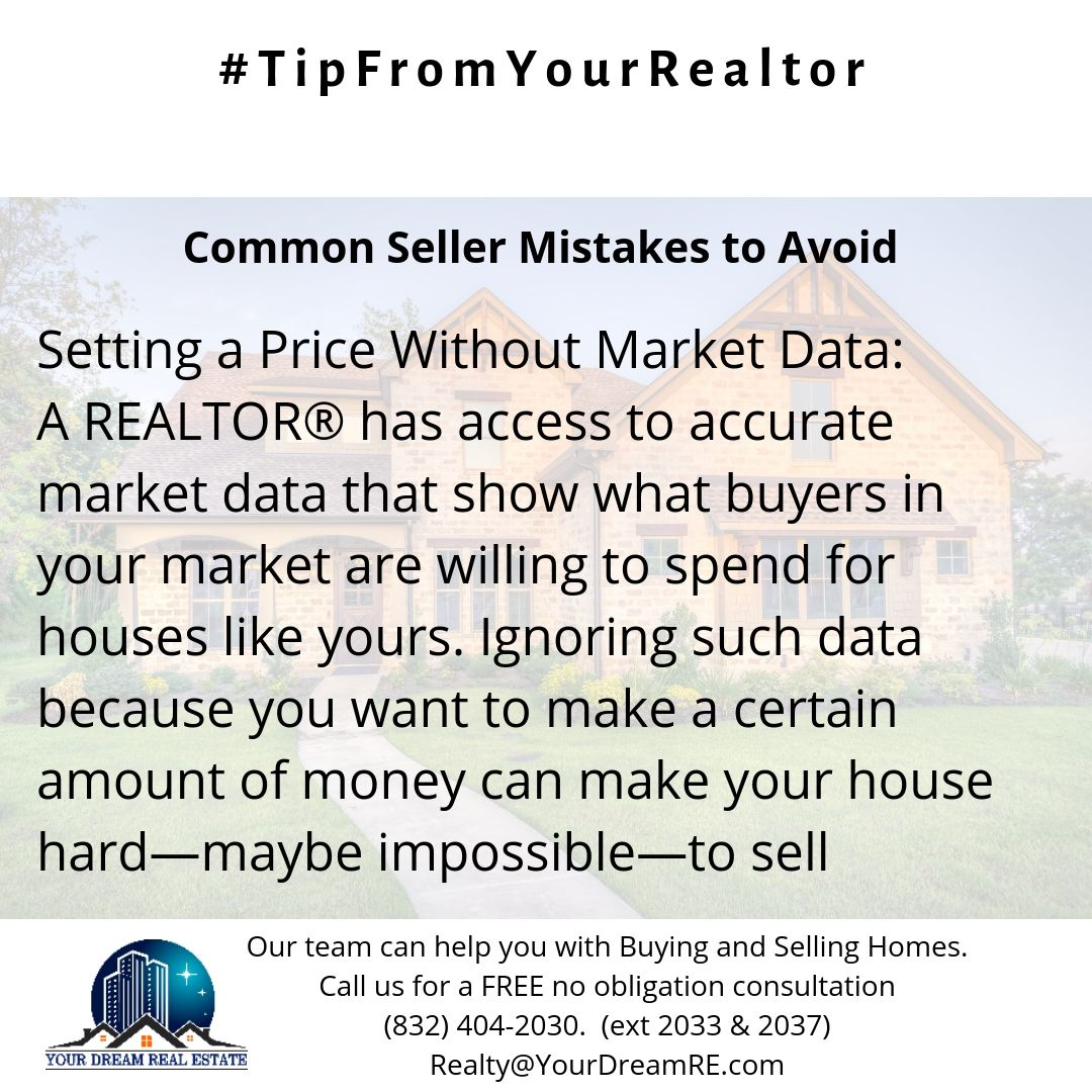 Setting The Right Price Combined With A Healthy Condition Of Your Home Attracts More Buyers In First 10 Days Of Your Home Bei Houston Real Estate Marketing Data Marketing