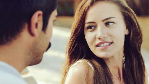 Fahriye Evcen Burak Ozcivit Ask Sana Benzer Quotes About Photography Cute Photography Flirting