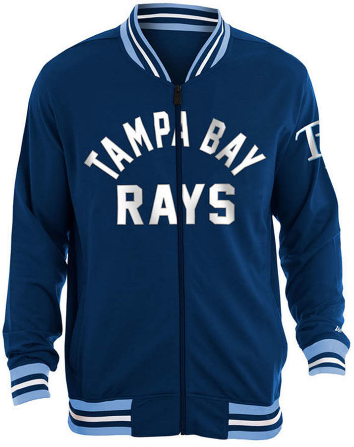 New Era Men Tampa Bay Rays Lineup Track Jacket Track Jackets Jackets New Era