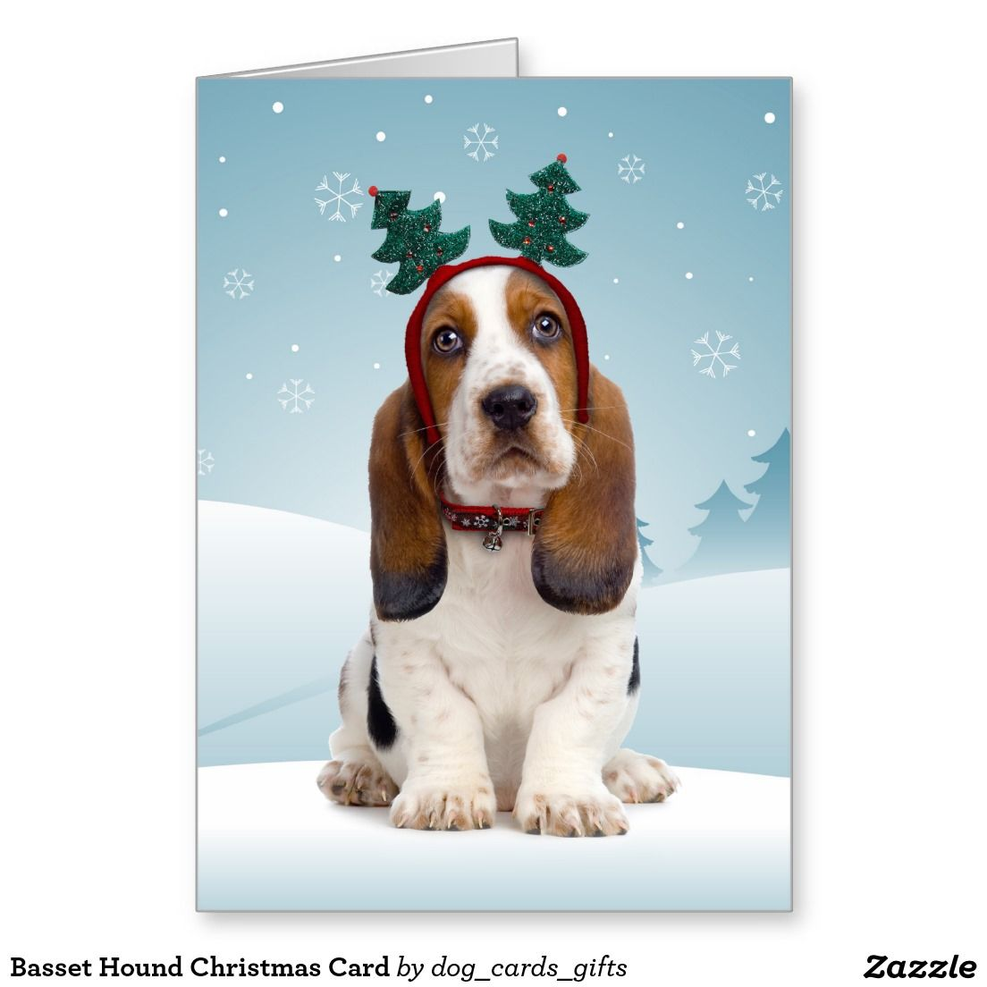 Basset Hound Christmas Card | Christmas Cards | Pinterest | Basset hound