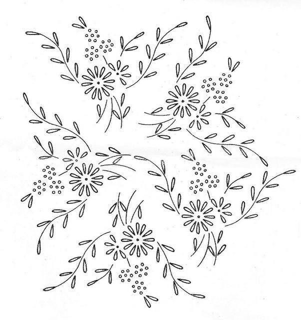 Dibujos Para Bordar Manteles A Mano Imagui Embroidery