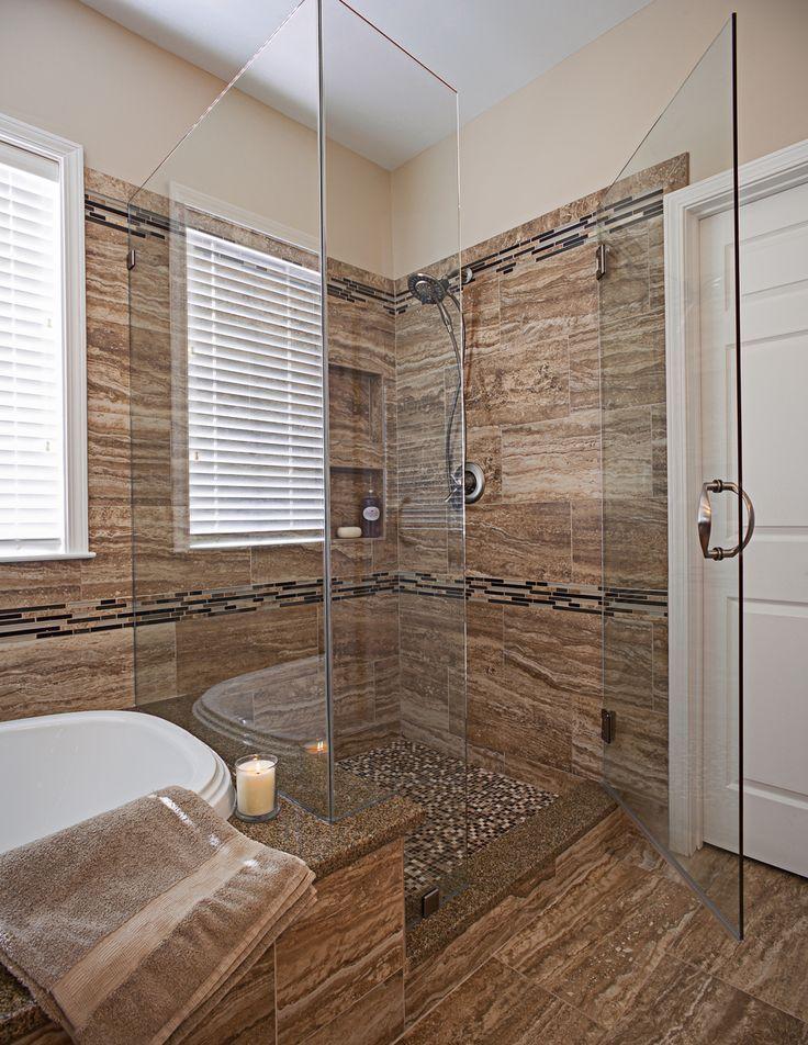 37 Bathrooms With Walk-In Showers | Rustic bathrooms, Zen ...