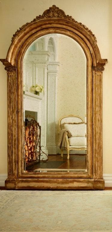 The Elizabeth Storage Mirror Set In A Gorgeous Wood Frame