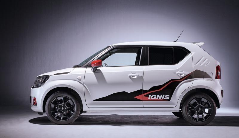 Suzuki Ignis Decor Stripes Mountain Design Mountain Designs