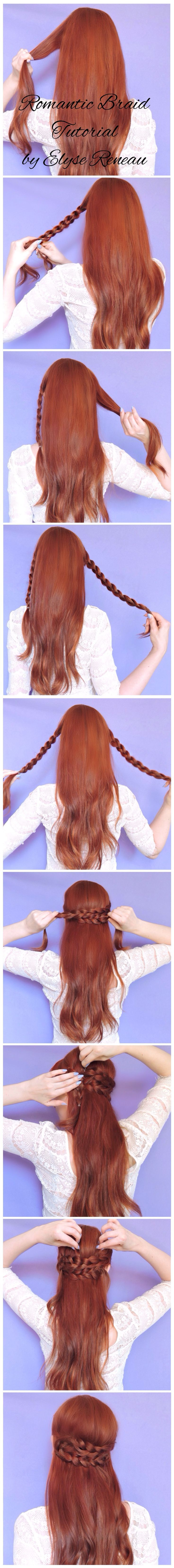 Cute and easy hairstyle tutorials so eassyy peinados